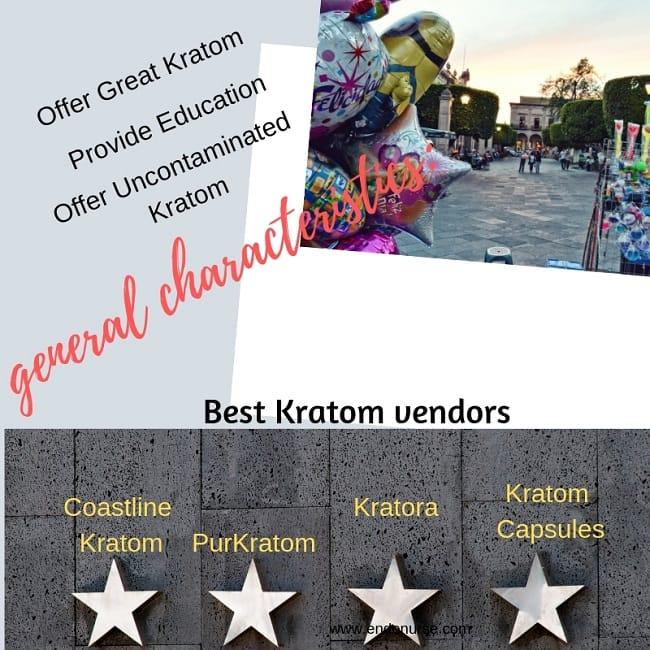 Best Kratom Vendor General characteristics_