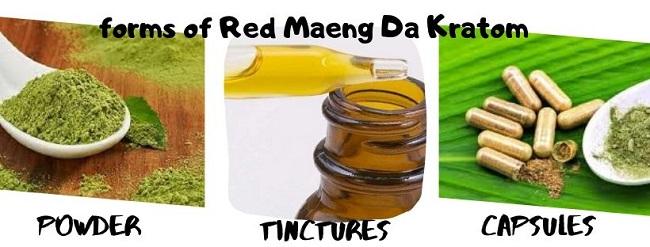 Red Maeng Da forms