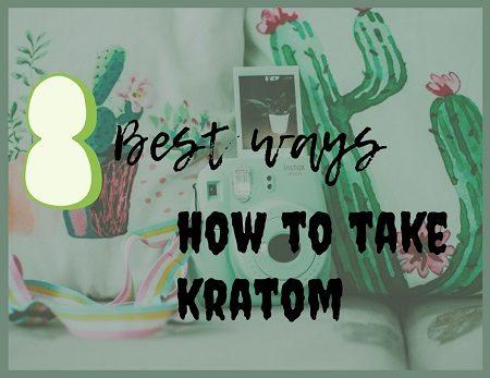 how to take kratom